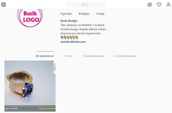 instagram ürün fotoğraf paylaşımı