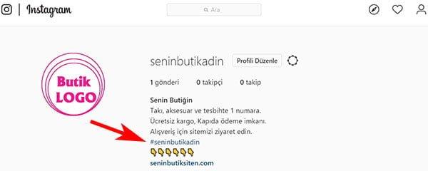 instagramda hashtag kullanımı işletme etiketi